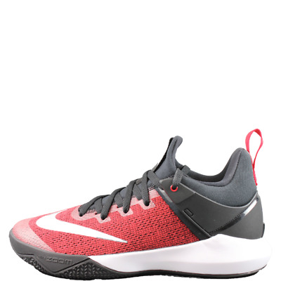 Nike Zoom Shift Men's Basketball Shoes Red Sneakers New 2017 Mid Top 897653 601 | eBay