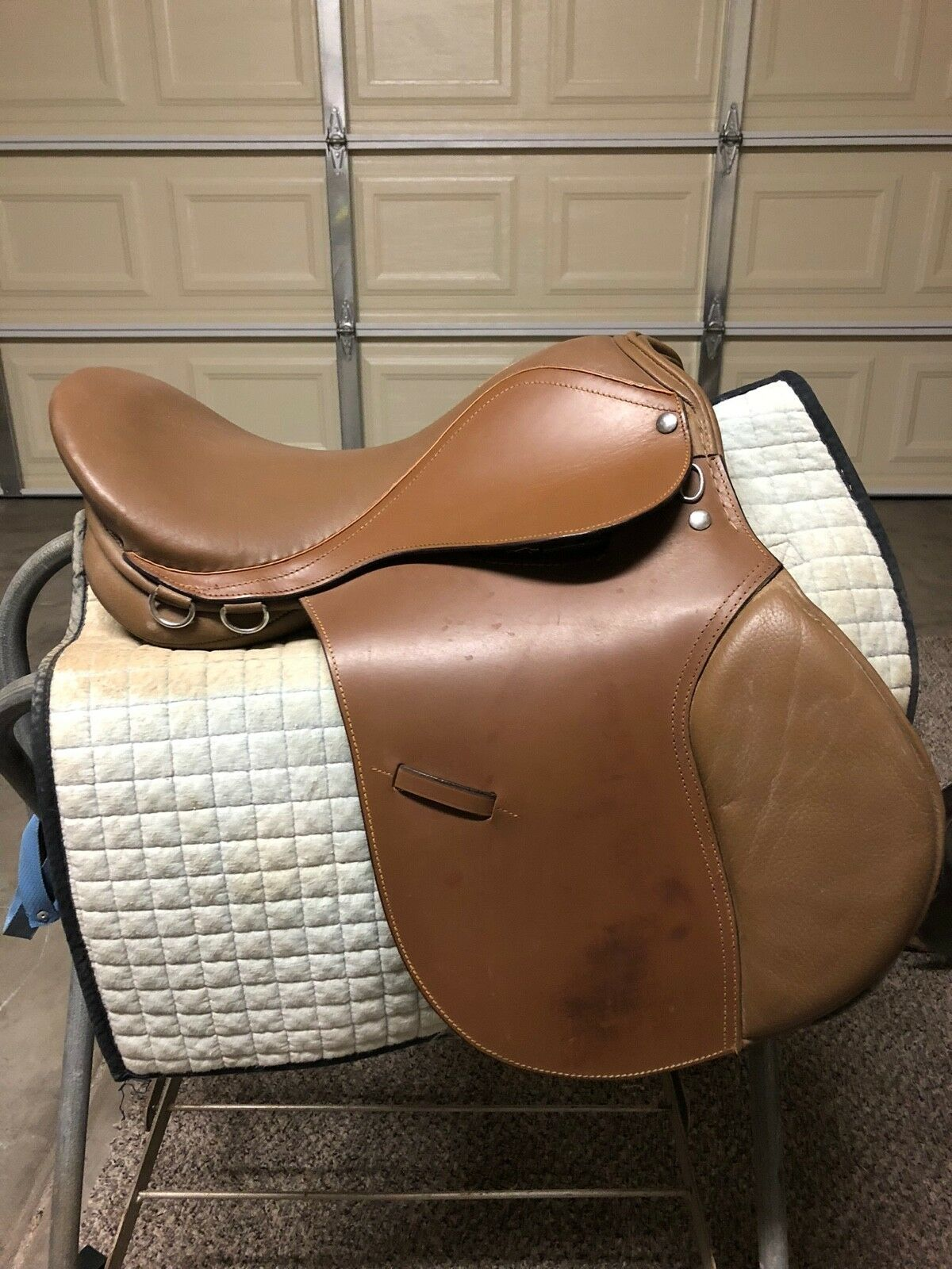 English all purpose saddle 16 brown