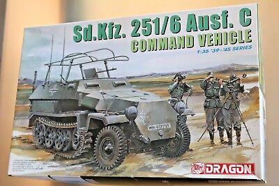 Dragone Modellino 1/35 Command Vehicle Ref 6206 Bustine Chiusi
