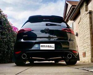 Beluga Racing VW GOLF GTI MK7 2015-2017 MKVII 2.0T Light Weight Catback Exhaust