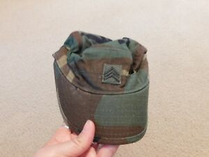 8415-01-393-6296 New Size: 7-5//8 US Army Woodland Hot Weather Cap // Hat