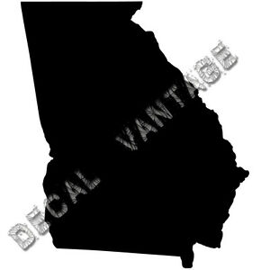 Georgia-Vinyl-Sticker-Decal-State-GA-Choose-Size-amp-Color