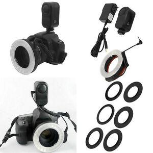 Hot-C48LED-Macro-Ring-Round-Flash-Camera-Studio-Light-Adapter-Ring-for-Camera-SY