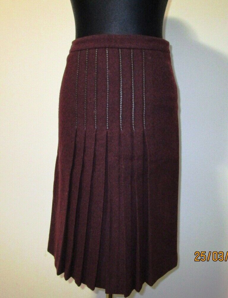 Femme ETRO jupe 100% laine taille 40