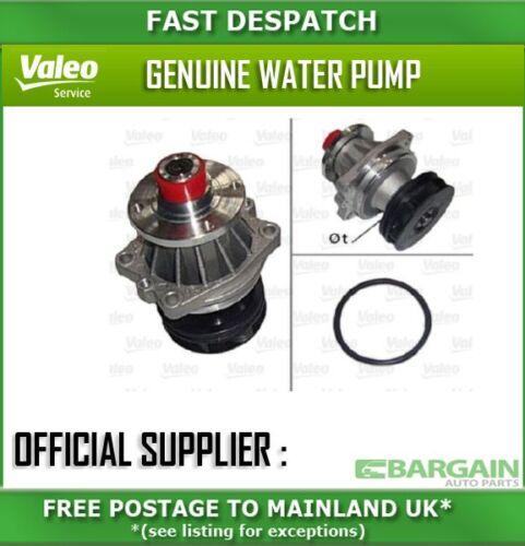506107 831 VALEO pompe à eau pour BMW SÉRIE 5 2000-2003 2,5