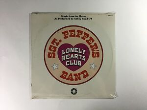 ABBEY ROAD '78 Sgt  Pepper's (Music From The Movie) LP