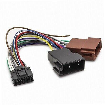 JVC KD-R431 Kabelbaum Kabel Adapter Iso für Auto Radio Neu Autoradio
