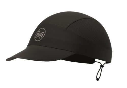 solid black Buff Pack Run Cap Reflective