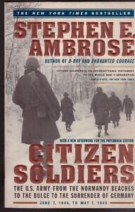citizen soldiers stephen ambrose