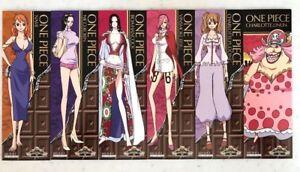 One Piece Bookmarker X6 Nami Robin Hancock Reiju Pudding Valentine