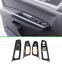 Carbon Fiber Inner Window Switch Panel Cover Trim For VW Teramont Atlas 2017-19