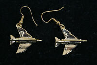 F-4 PHAMTOM HOOP EARRINGS MADE IN US MARINES AIR FORCE NAVY PIN UP GIFT PIN UP 1