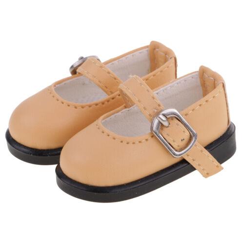 "Fashion PU Strap Ankle Shoes Lolo Cut Shoes for 1//6 AOD SD LUTS 12/"" BJD Dress up"