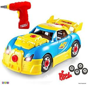 Take Apart Toy Car Build Your Own Car Toys 30 Piece Construction Set Toy Cars 638346171025 Ebay
