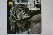 Beethoven Ouvertüren Karl Böhm Wiener Philharmoniker Staatskapelle Dresden(LP22)
