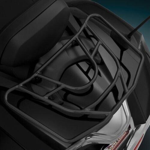 Show Chrome Black Powder Coat Rack Mount Kit for Honda GL1800 F6B 52-830M