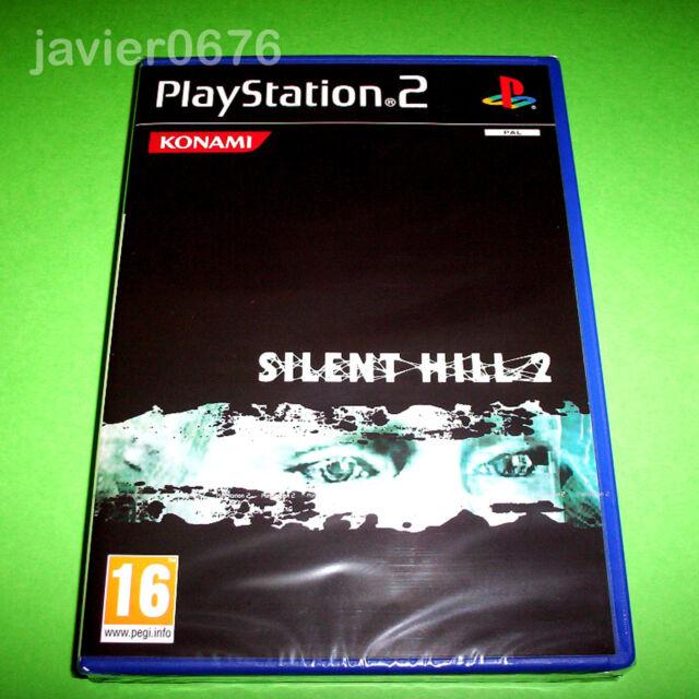 SILENT HILL 2 NUEVO Y PRECINTADO PAL ESPAÑA PLAYSTATION 2