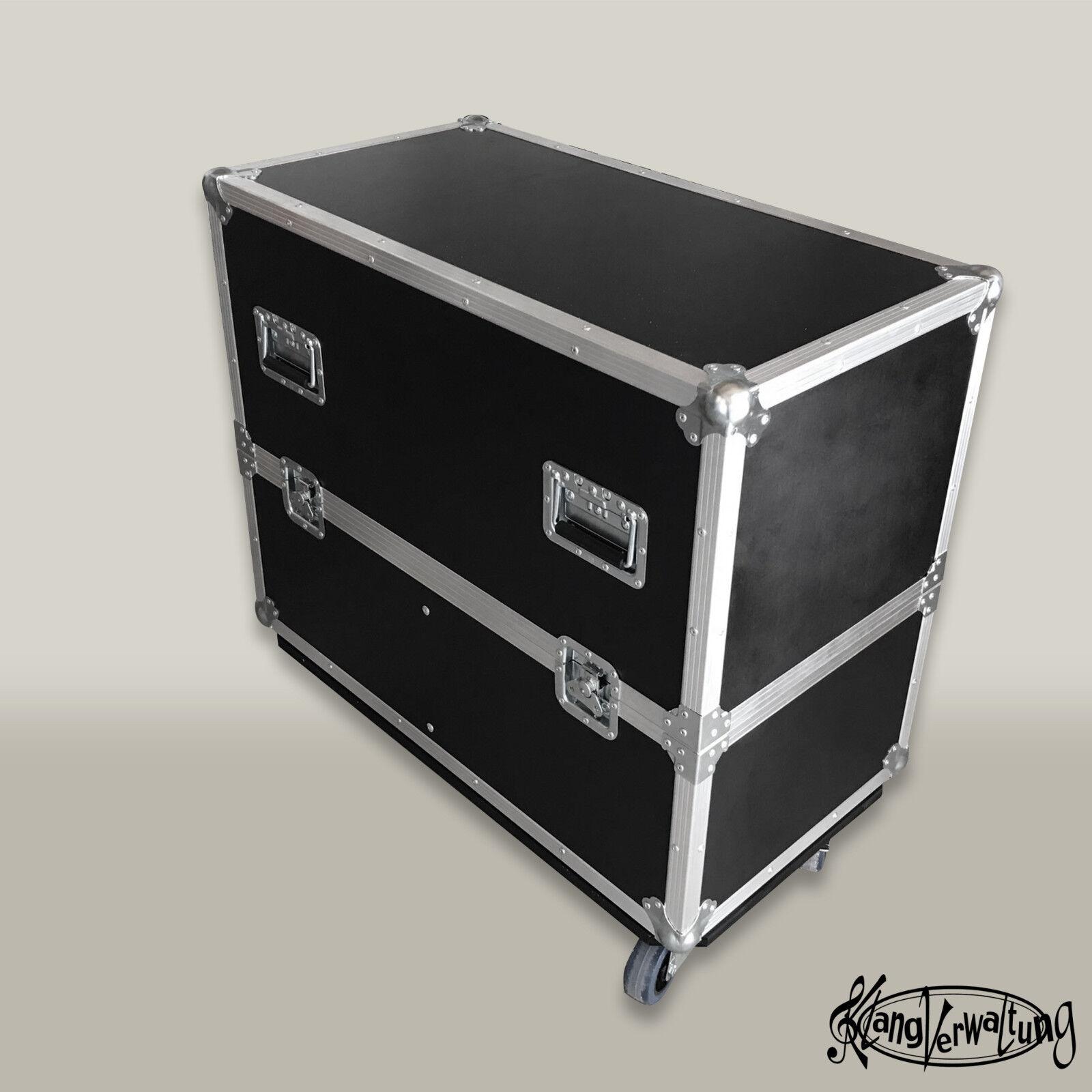 Flightcase für 2 EV ZLX 15P Lautsprecher Rollencase Transportcase