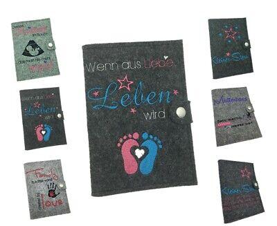 Methodical Bestickte Mutterpasshülle Personalisiert Name ♥ Mutterpass Hülle ♥ 7 Designs Baby
