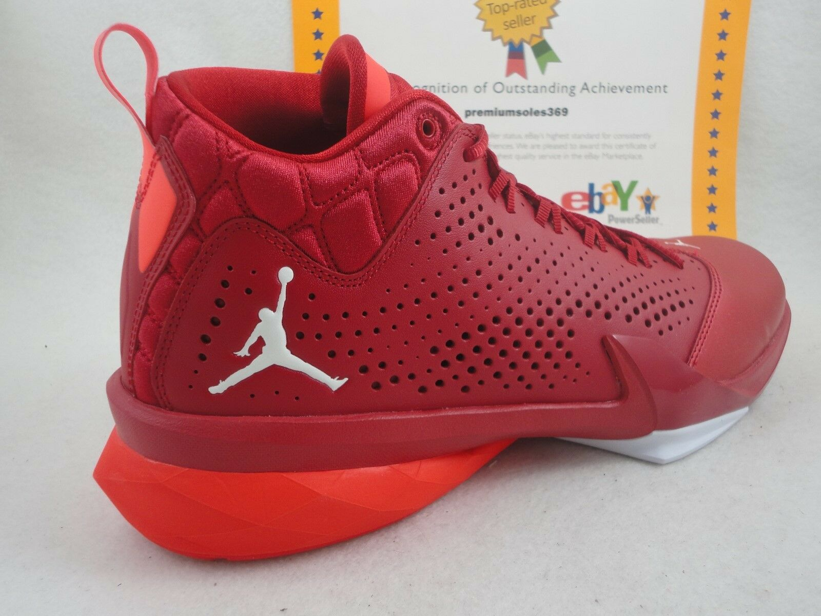 Nike Jordan Flight Time 14,5, gimnasio Rojo / blanco 23 / infrarrojo Lunarlon, tamaño 23 blanco 401c14