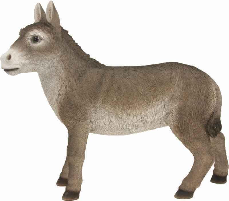 Crib Figures Animals Donkey standing for characters Taille approx 30-38cm