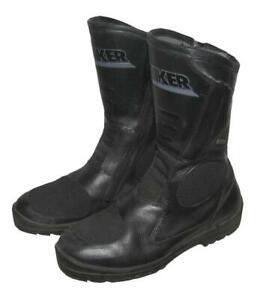 ">>> "" PROBIKER "" Motorradstiefel / Stiefel / Boots in schwarz ca. Gr. 40,5"