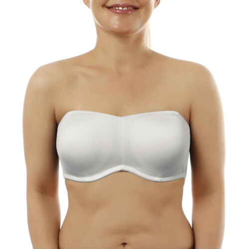 Full Coverage Cup Strapless Multiway Bra Detachable Thin padded Lingerie A-G