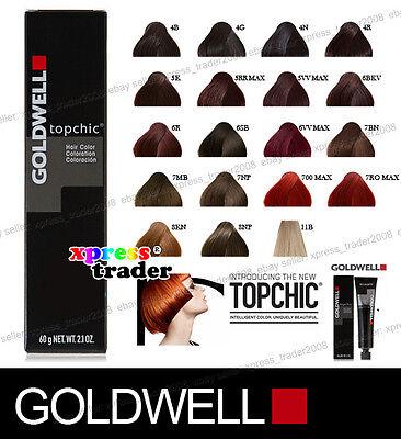 Goldwell Topchic Permanent Colour Hair Color Dye 60ml   eBay