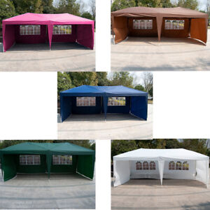 10-039-X-20-039-Outdoor-Patio-Gazebo-EZ-POP-UP-Party-Tent-Wedding-Canopy-W-Carry-Bag