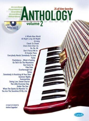 Volume 2 Accordion Sheet Music Accordion Anthology CD Instrumental Album