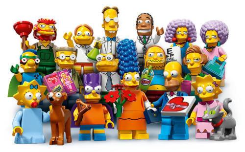 Lego ® Minifigure Figurine Série 2.0 Les Simpsons 71009 Choose Minifig NEW
