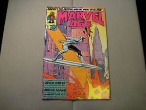 Marvel-Age-71-Feb-1989-Marvel-Comics-Silver-Surfer-Cover