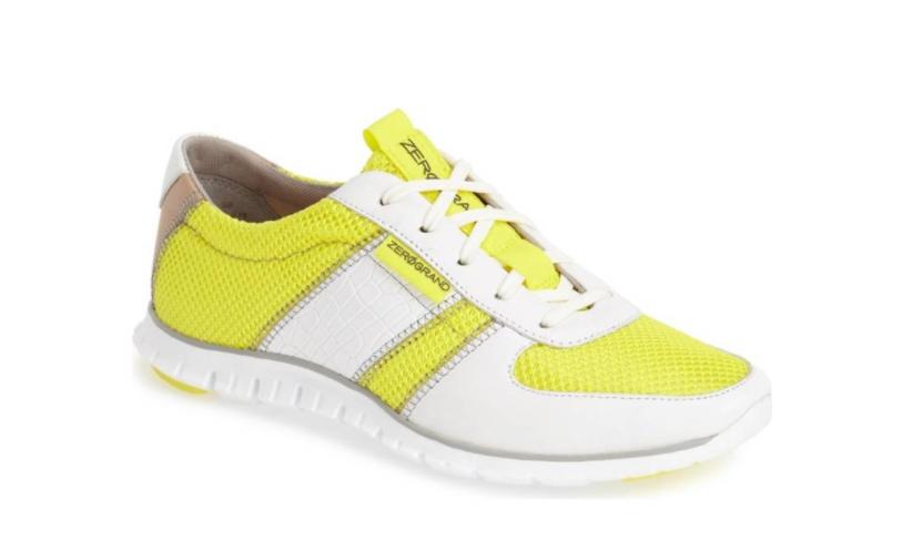 Cole Haan ZeroGrand B bianca giallo Donna Sz 8.5 8.5 8.5 B 6499 308a5d   a73907