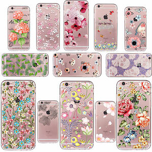 New-Thin-Case-Cover-Pattern-TPU-Soft-Silicone-For-iPhone-4s-5s-SE-5c-6-6s-7-Plus