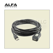 ALFA 5m (16 feet) USB Repeater Extension Cable MALE/FEMALE made for AWUS036NHR