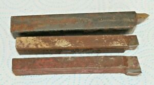 Job-Lot-of-3-4-034-19mm-Shank-Tool-Steel-Carbide-Tip-quality-Lathe-Turning-Tools