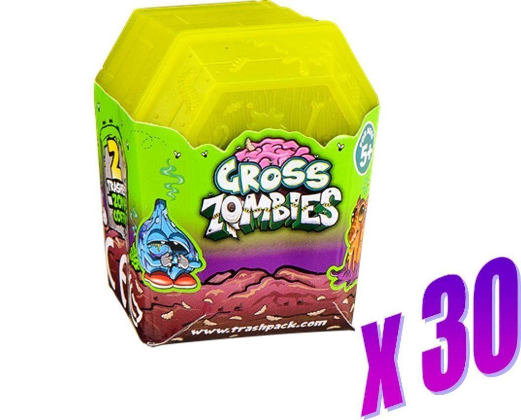 Trash Pack ataúdes-cada ataúd conteniendo 2 Zombie Trashies (30 ataúd Pack)