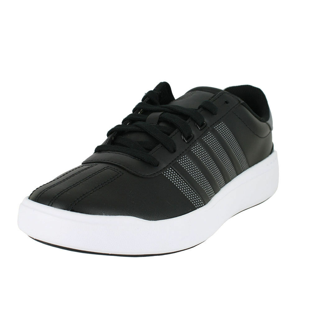 KSWISS HERITAGE LIGHT noir CHARCOAL blanc 05869 065 MENS US TailleS