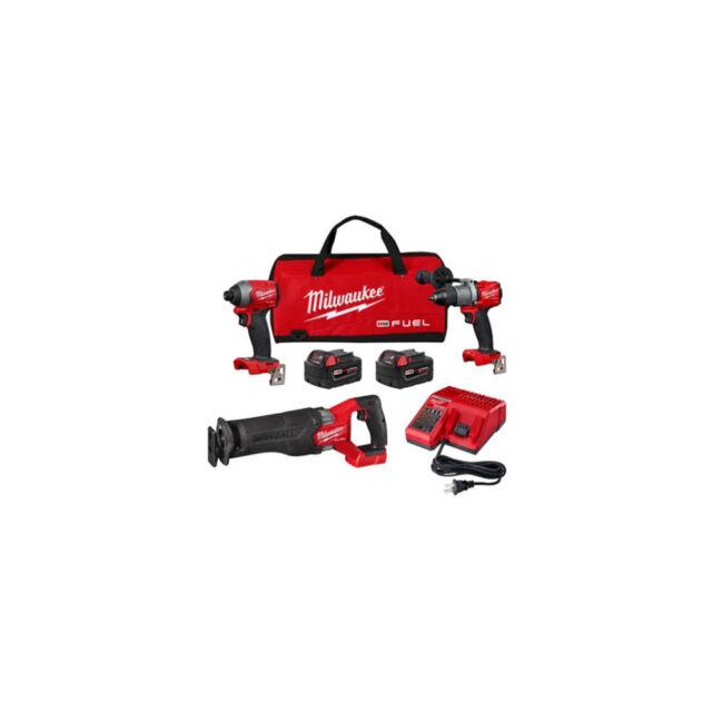Milwaukee M18 Fuel 3 Tool Combo Kit