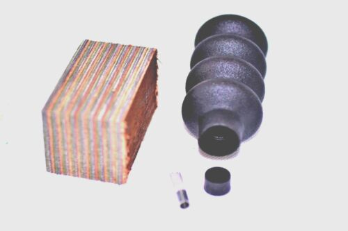 """Vermont Camo Squirrel Call Making Kit Large Bellows /""""The Shaker/"""""""