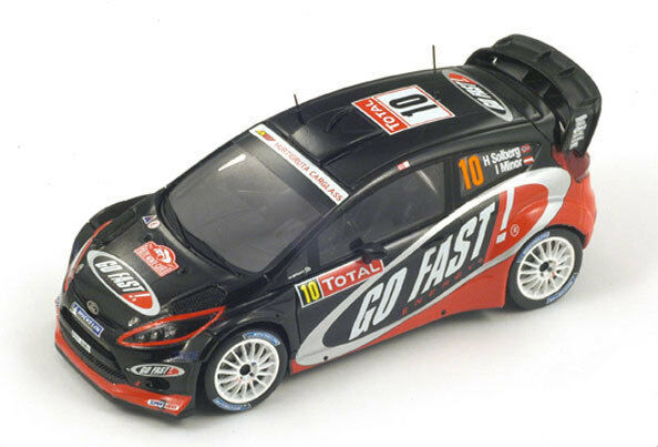 SPARK Ford Party RS No.10 13th WRC Rally Monte Carlo Henning Solberg S3345 1 43