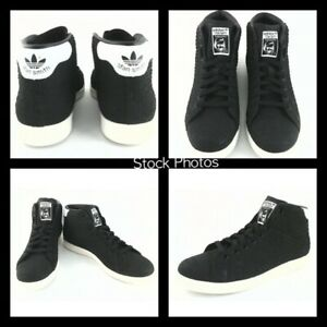 NEW-ADIDAS-STAN-SMITH-Snake-Black-White-Women-039-s-10-Shoes-Sneakers-BB4863