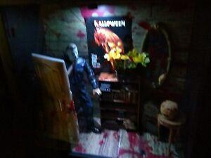 image is loading mcfarlane halloween michael myers figure creations shadow box - Halloween Video Game Michael Myers