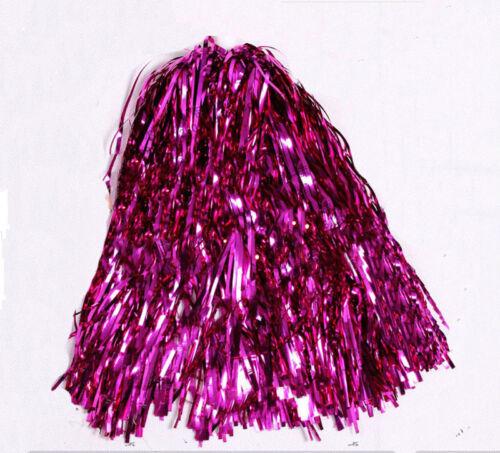 Cheerleader Pom Poms Waver Fancy Dress Costume Pompoms Dance Hen Party Decor HDU