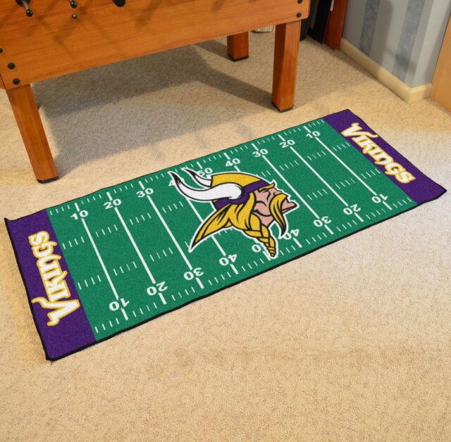 6762afbf NFL Minnesota Vikings Game Ticket Carpeted Runner Mat in 2019