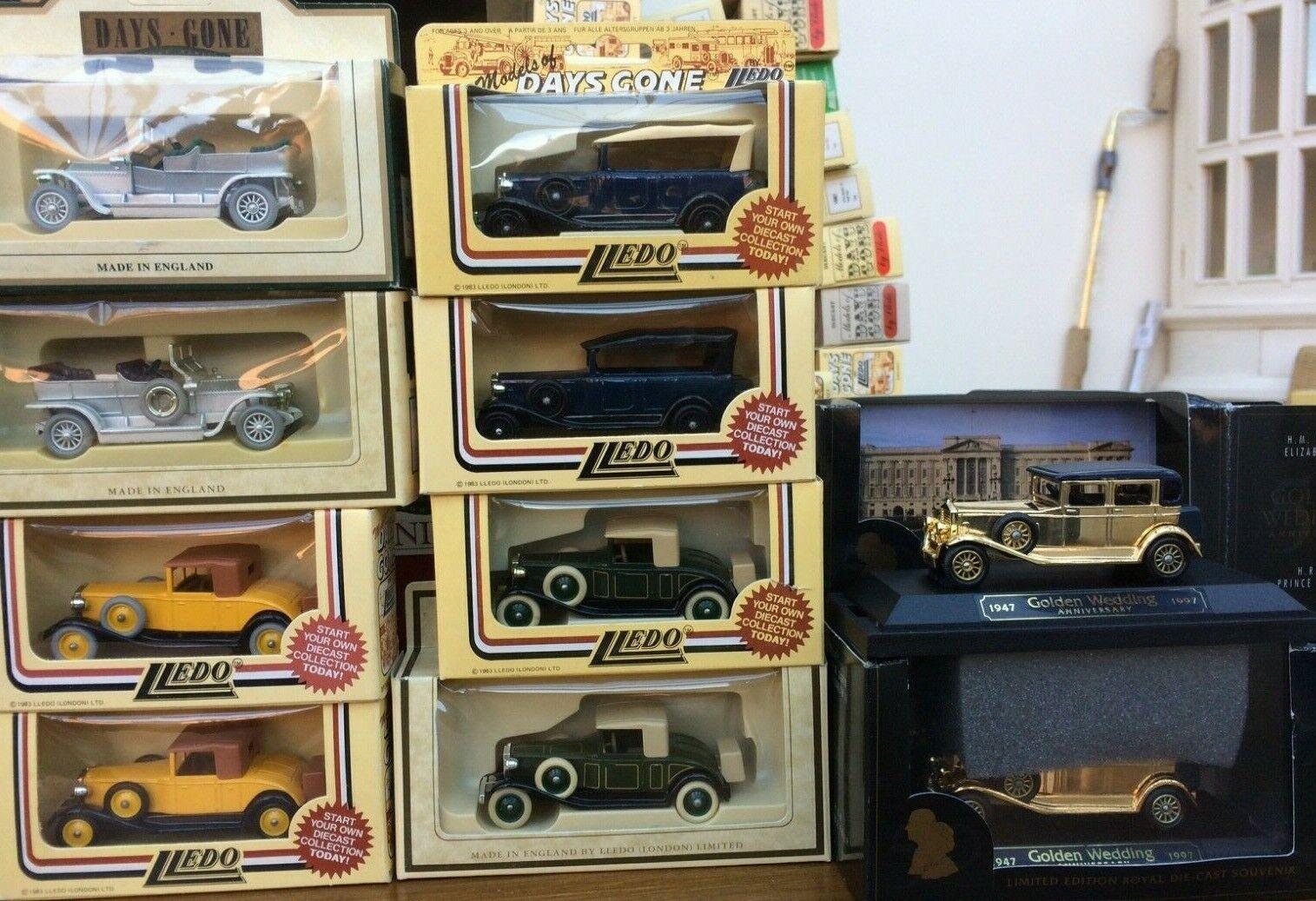 LLEDO DG & SL Rolls Royce models DG24000 DG24005 DG25000 DG32000 SL54003 gold