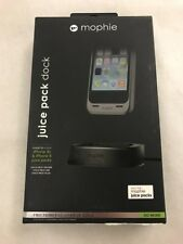 Authentic mophie Juice Pack Desk Dock for iPhone 5/5s Black