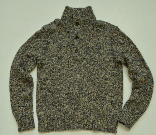 New $145 Polo Ralph Lauren Men/'s Cotton Henley Chunky Sweater Size M