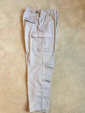 Rothco Solid Military BDU Cargo Fatigue Pants khaki/tan