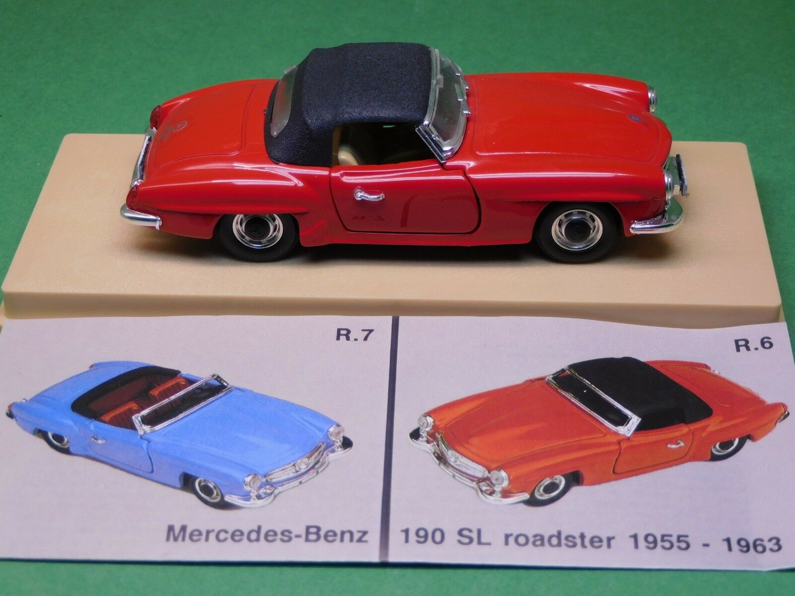 MB MB MB Mercedes Benz 190 SL 1955 Rio 1 43 N° R7 Modellauto Modellfahrzeug OVP NEU a2f3d8